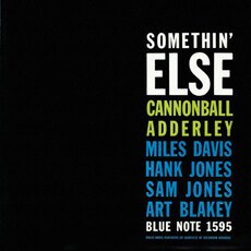 [수입] Cannonball Adderley - Somethin' Else [RVG Edition, 24-Bit]