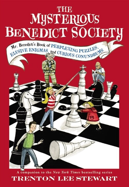 The Mysterious Benedict Society: Mr. Benedicts Book of Perplexing Puzzles, Elusive Enigmas, and Curious Conundrums (Paperback)