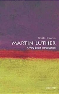 Martin Luther: A Very Short Introduction (Paperback)