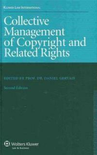 Collective management of copyright and related rights 2nd ed
