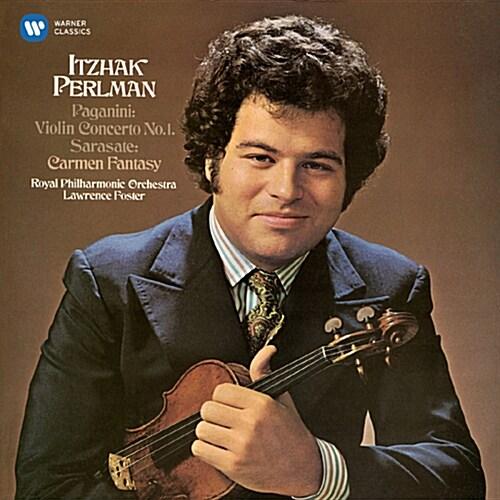 [수입] 펄만 1집 - 파가니니 : 바이올린 협주곡 1번 / 사라사테 : 카르멘 환상곡