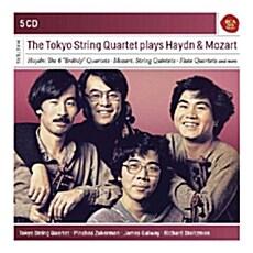 [수입] 도쿄 현악 사중주단이 연주하는 하이든 & 모차르트 (5CD)