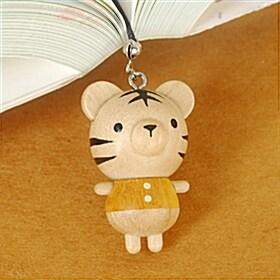 (BooKiss)나무인형책갈피-백호