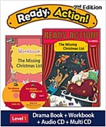 Ready Action 2E 1: The Missing Christmas List [Student Book + Workbook + Audio CD+ Multi-CD] (2nd edition)