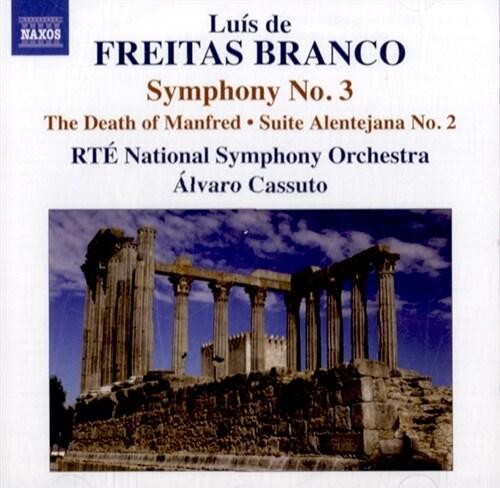 [수입] 브랑코 : 오케스트라를 위한 작품 3집 - 교향곡 3번