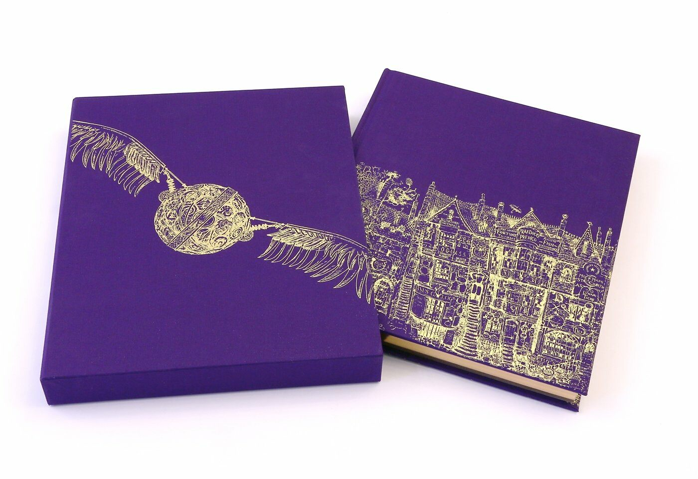 Harry Potter and the Philosophers Stone : Deluxe Illustrated Slipcase Edition (Hardcover)