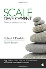 Scale Development: Theory and Applications (Paperback)