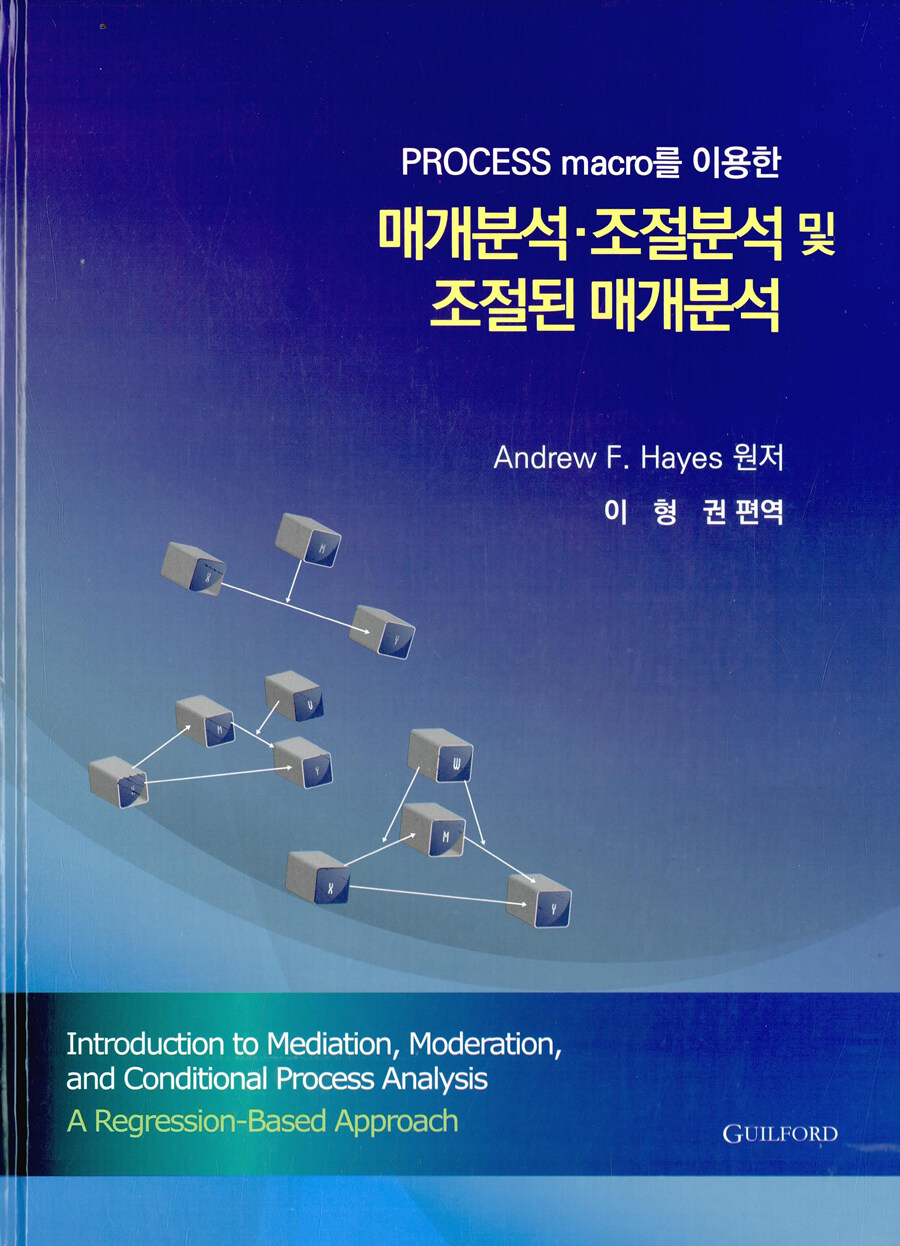 (Process macro를 이용한) 매개분석·조절분석 및 조절된 매개분석