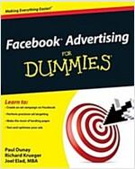 Facebook Advertising for Dummies (Paperback)