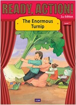 Ready Action 2E 1: The Enormous Turnip [Student Book + Workbook + Audio CD + Multi-CD] (2nd edition)