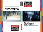 Time Out Shortlist Gotham and Metropolis (Paperback)