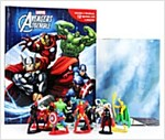 Marvel Avengers Assemble : My Busy Books (미니피규어 12개 포함) (Hardcover, 미니피규어 12개 포함)