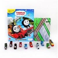 My Busy Book : Thomas and Friends 토마스와 친구들 비지북 (미니피규어 10개 + 놀이판)