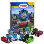 My Busy Book : Thomas and Friends 토마스와 친구들 비지북 (미니피규어 12개 + 놀이판)