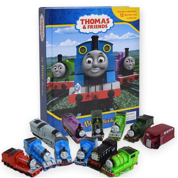 My Busy Book : Thomas and Friends 토마스와 친구들 비지북 (미니피규어 12개 + 놀이판)