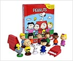 Peanuts My Busy Book (미니피규어 12개 포함) (Hardcover)