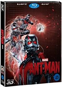 [3D 블루레이] 앤트맨 : 스틸북 한정판 콤보팩 (2disc: 3D+2D)