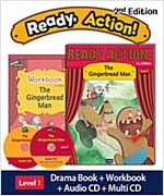 Ready Action 2E 1: The Gingerbread Man [Student Book + Workbook + Audio CD + Multi-CD] (2nd edition)