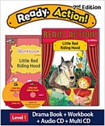 Ready Action 2E 1: Little Red Riding Hood [Student Book + Workbook + Audio CD + Multi-CD] (2nd edition)