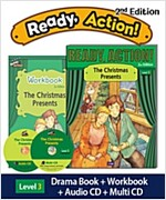 Ready Action 2E 1: The Christmas Presents [Student Book + Workbook + Audio CD + Multi-CD] (2nd edition)