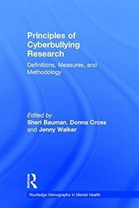Principles of cyberbullying research : definitions, measures, and methodology