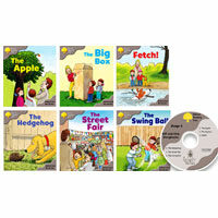 Oxford Reading Tree : Stage 1 Biff and Chip (Wordless B) (Storybooks 6권 + Audio CD 1장, 미국발음)