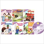 Oxford Reading Tree : Stage 1+ More Patterned Stories A (Paperback 6권 + Audio CD 1장, 미국발음)