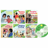 Oxford Reading Tree : Stage 2 Patterned Stories (Paperback 6권 + Audio CD 1장, 미국발음)