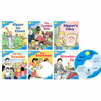 Oxford Reading Tree : Stage 3 More Stories A (Paperback 6권 + Audio CD 1장, 미국발음)