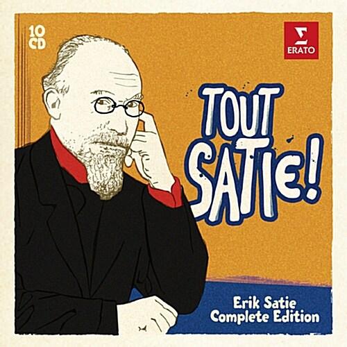 [수입] Tout Satie! - 에릭 사티 전집 [10CD 한정반]