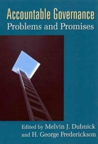 Accountable governance : problems and promises