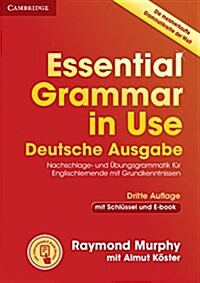 Essential Grammar in Use Book with Answers and Interactive ebook German Edition (Package, 3 Revised edition)