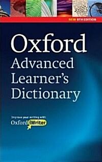 [중고] Oxford Advanced Learners Dictionary, 8th Edition: Paperback with CD-ROM (includes Oxford iWriter) (Package)