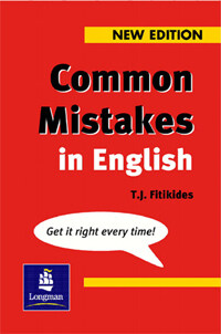 Common Mistakes in English New Edition (Paperback)