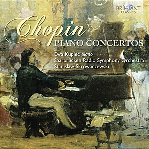 [수입] 쇼팽 : 피아노 협주곡 1, 2번