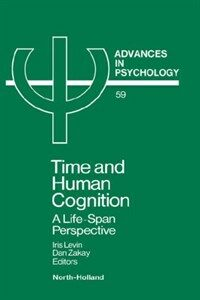 Time and human cognition : a life span perspective