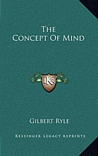 The Concept of Mind (Hardcover)