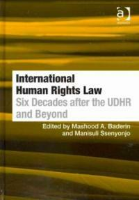 International human rights law : six decades after the UDHR and beyond