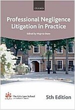 Professional Negligence Litigation in Practice (Paperback, 5 Revised edition)