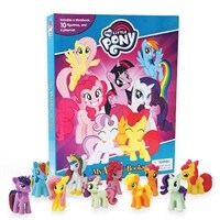 My Little Pony Busy Book (미니피규어 10개 포함)