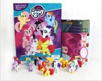My Little Pony Busy Book (미니피규어 12개 포함)
