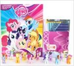 My Little Pony Busy Book 마이리틀포니 비지북 (미니피규어 12개 + 놀이판)