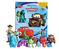 Disney Pixar Fantastic Friends : My Busy Books (미니피규어 12개 포함)
