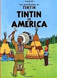 [중고] Tintin in America (Paperback, Graphic Novel)
