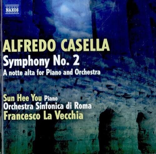 [수입] 카셀라 : 교향곡 2번 & 피아노와 관현악을 위한 심야