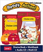 Ready Action 2E 1: Chicken Little (Student Book + Workbook + Audio CD + Multi-CD, 2nd edition)