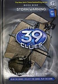 [중고] The 39 Clues #9 : Storm Warning (Hardcover)