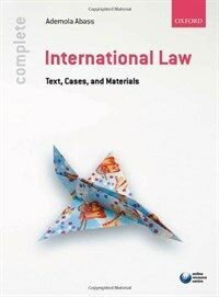 International law : text, cases, and materials