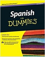Spanish For Dummies  [With CD (Audio)] (Paperback)