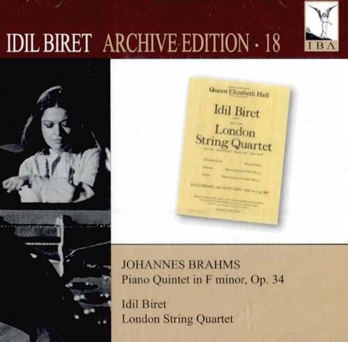[수입] 브람스 : 피아노 오중주 Op. 34